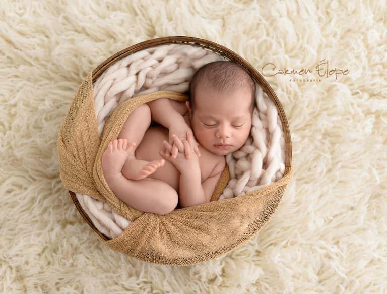 Sesión de recién nacido: Joel