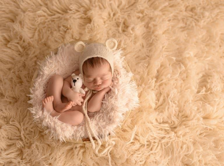 Fotografa Recien Nacidos Murcia Sesion Newborn Carmen Elepe Fotografia Picado Blanco