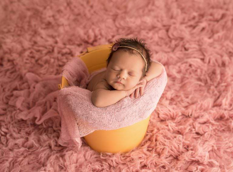 Fotos Bebe Cubito Recien Nacido Newborn Carmen Elepe Fotografia Murcia Rosa