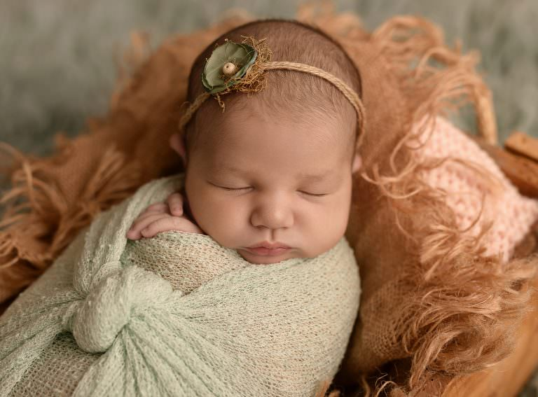 Sesion Newborn Murcia Carmen Elepe Fotografia Fotos Recien Nacido Bonitas Verde Mint